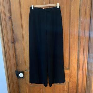 Vintage Holt Renfrew wool wide leg trousers